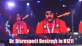 Dr. Disrespect Destroys in H1Z1 -  TWITCHCON Vlog DAY 2!
