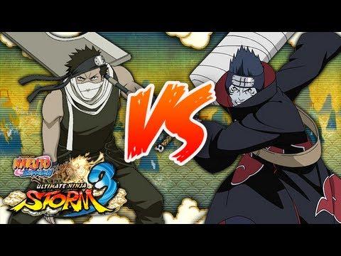 NARUTO SHIPPUDEN: Ultimate Ninja STORM 3 | Edo Zabuza VS ... Zabuza Vs Hidan