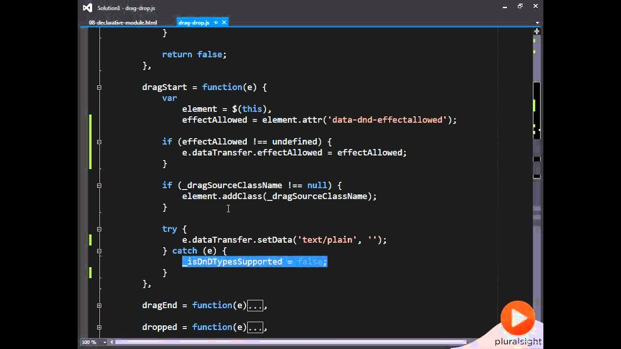 15 Implementing A Drag and Drop Module JavaScript