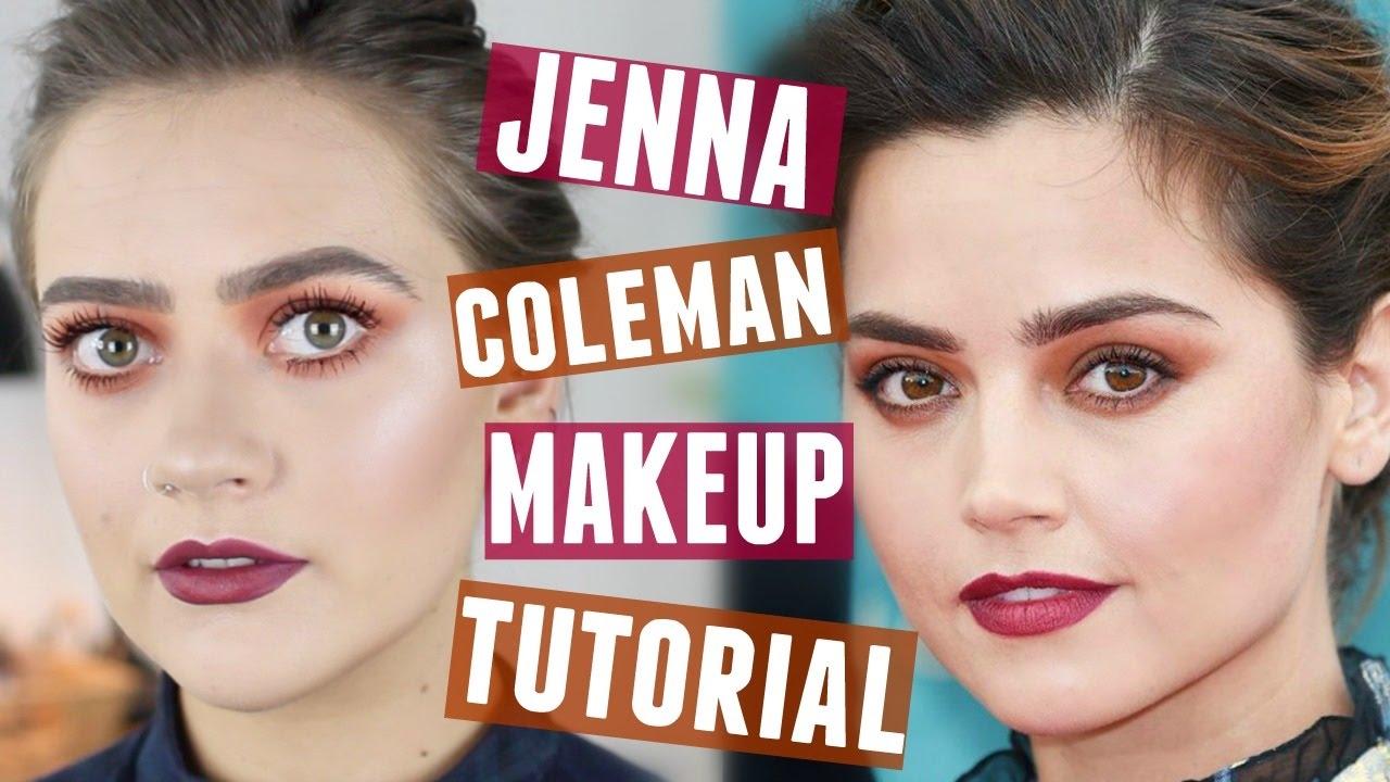 Jenna Coleman Makeup Tutorial Doppelgnger Week Emmasrectangle