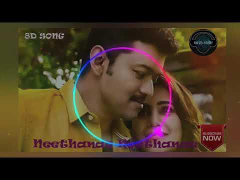 8D Audio Song | Mersal - Neethanae  | Vijay|Samantha | A.R.Rahman