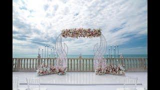 Невероятно красивая свадьба в Крыму у моря, event-студия Pink