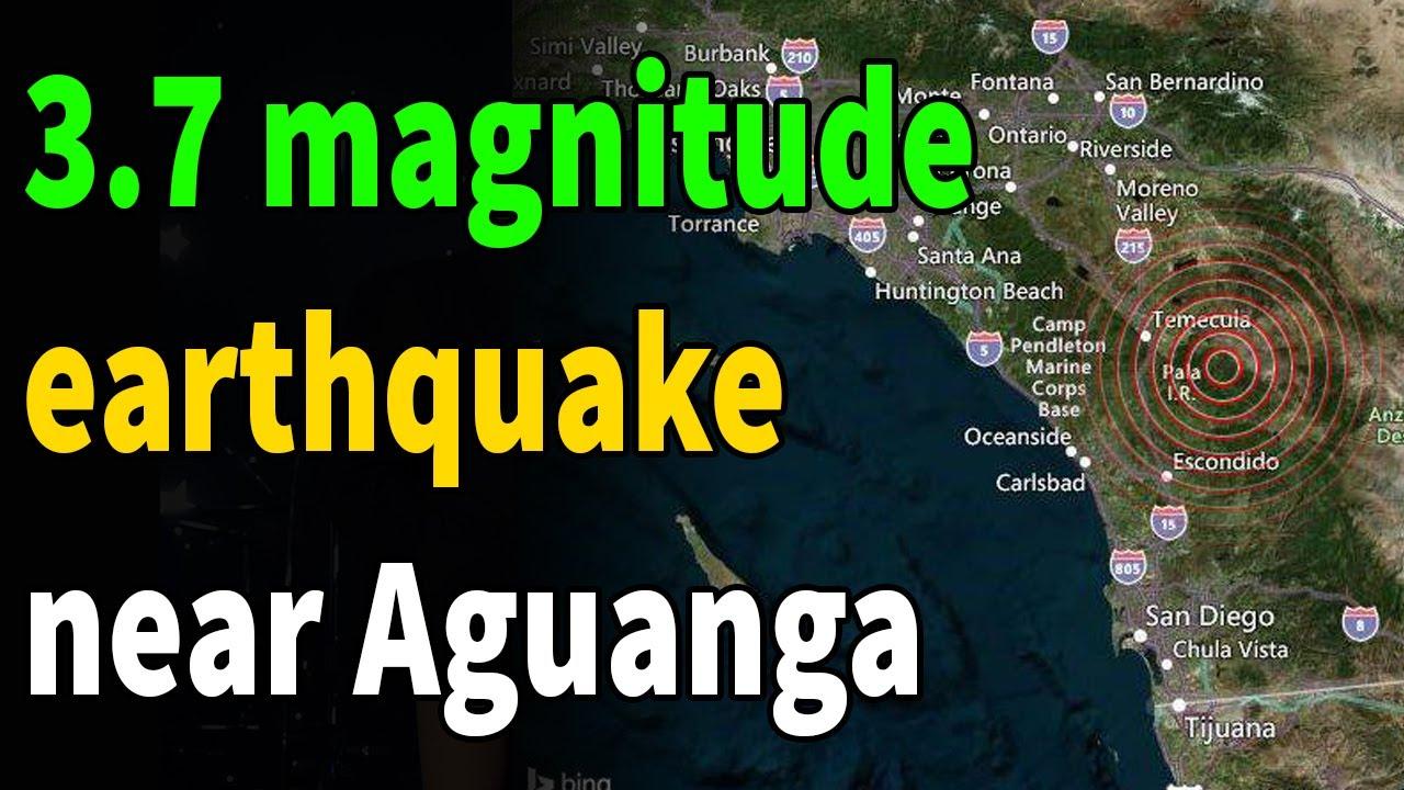 California earthquake: 3.6 magnitude earthquake rattles metro Los ...