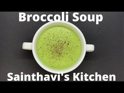 creamy-broccoli-soup-recipe-|-tasty-healthy-green-soup