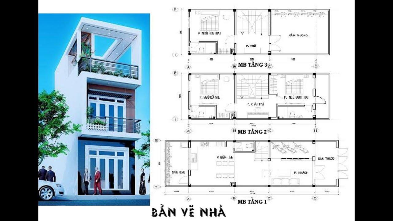Hướng dẫn cách vẽ Mặt bằng của Ngôi nhà – Bài 11 và 12 SGK Công nghệ 11