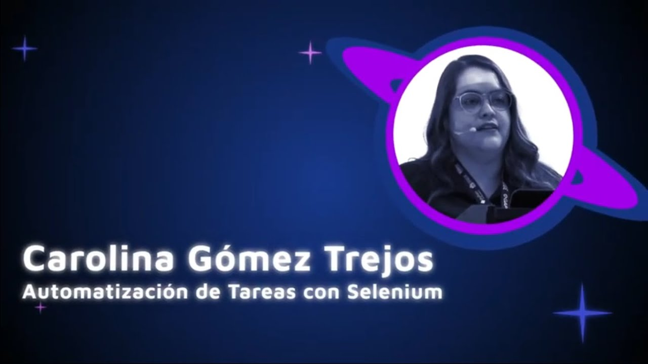 Image from Carolina Gomez - Automation of tasks with selenium - PyCon Colombia 2019