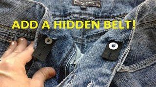 KEEP YOUR PANTS UP! - Hidden Stretch Belt