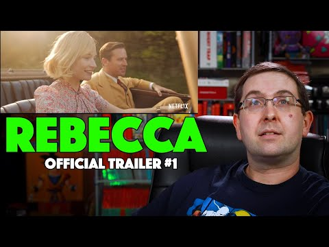 REACTION! Rebecca Trailer #1 – Armie Hammer Movie 2020