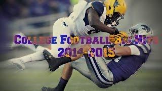 College Football | 2014-2015 Big Hits | HD