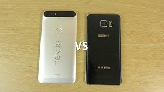 Nexus 6P VS Galaxy Note 5 - Speed Test