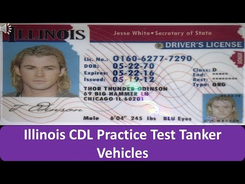 Illinois CDL Practice Test Tanker Vehicles