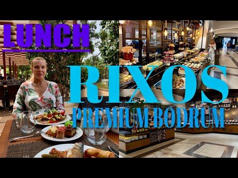 Rixos Premium Bodrum/ Lunch / обед