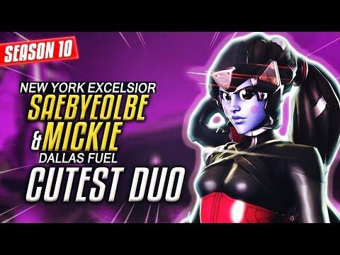 CUTEST Overwatch DUO - Saebyeolbe (NYXL) & Mickie (DF) VS Oge & Gale [S10]