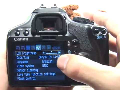 Canon XSi/450D Getting Started: Setup