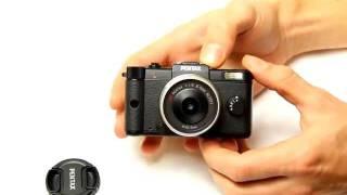 видео Обзор Pentax Q