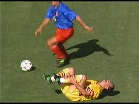 World Cup 1994. Group A. Romania - Columbia. Highlights.