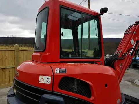 2012 Kubota KX121-3 Mini Excavator For Sale Walk-Around Inspection Video!