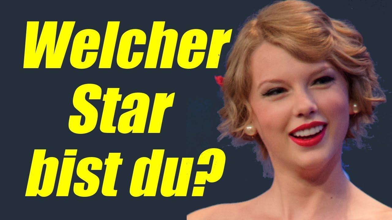 Promi Quiz Welcher Star Bist Du Persönlichkeitstest Youtube