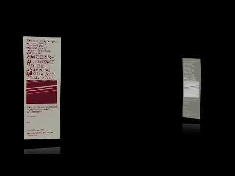 2007: Sapporo Media Art Trial 2007 - Certificates [Long]