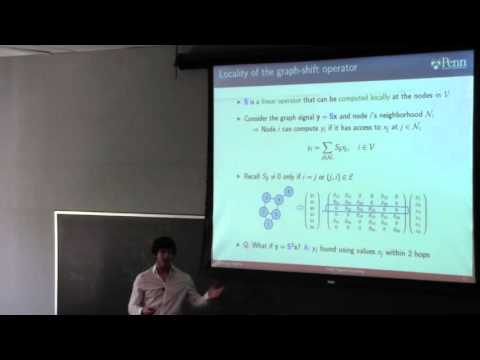 "Santiago Segarra presents ""Diffusion Dynamics and Distributed Networking"""
