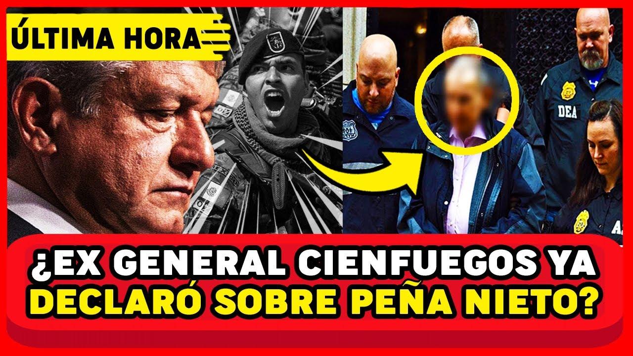 PODEROSO EX AGENTE DE USA! REVELA QUE CIENFUEGOS ENTREGARÁ A PEÑA NIETO AMLO Y MEXICO EN SHOCK