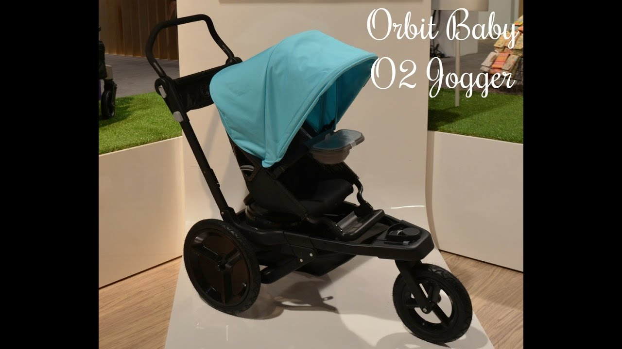 NEW! Orbit Baby O2 jogging stroller ~ ABC Kids Expo 2014 Preview ...