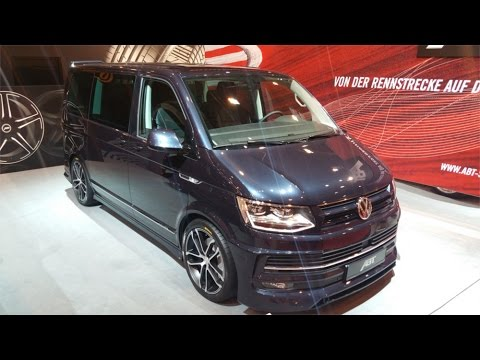 abt bulli volkswagen t6 bus 200hp essen motorshow 2016. Black Bedroom Furniture Sets. Home Design Ideas