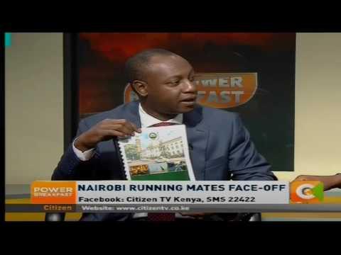 One on one with Nairobi running mates