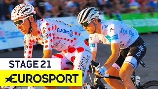Tour de France 2019 | Stage 21 Highlights | Cycling | Eurosport