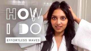 Deepica Mutyala's Effortless Loose Waves Hair Tutorial | How I Do | Harper's BAZAAR