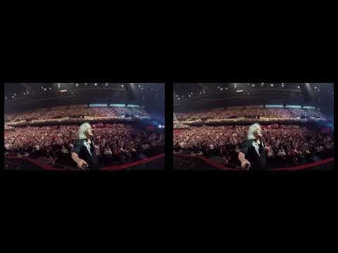 Selfie Stick Video | Adelaide, Australia |3D| First Night [February 27, 2018] Queen + Adam Lambert
