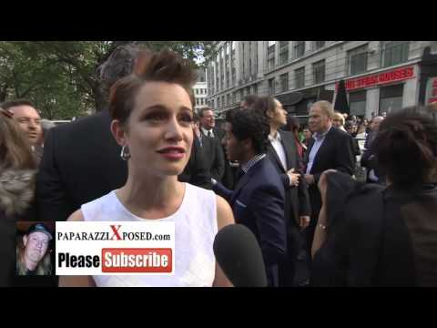 Daniella Kertesz star of World War Z  with PaparazziXposed com