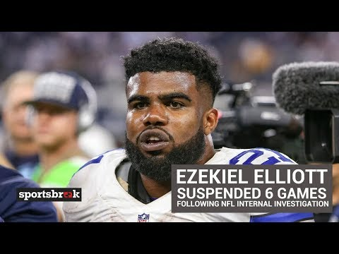 Ezekiel Elliott Suspended 6 Games Following NFL Investigation