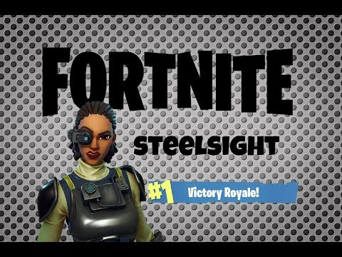 Fortnite: Steelsight Victory Royale!
