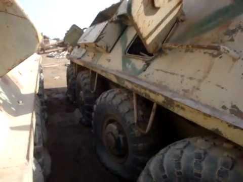 TAJI Bronetransportyor БТР, Бронетранспортер BTR-60 Iraq