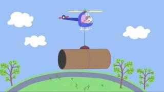 Peppa Pig 粉紅豬小妹 第四季03【兔小姐的直升機】中文版1080P