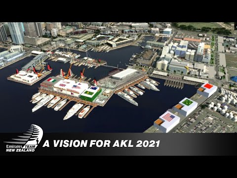 The vision of Auckland's America's Cup in 2021