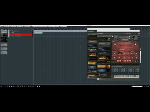 DAW cast - playing around with Eris by Composers Tools