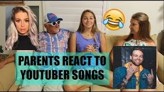 PARENTS REACT TO YOUTUBER MUSIC