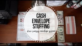 Stuffing My Cash Envelopes | Dave Ramsey Inspired Budgeting