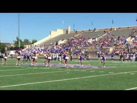 University of Tulsa Pom Squad: Perfect 8 Counts