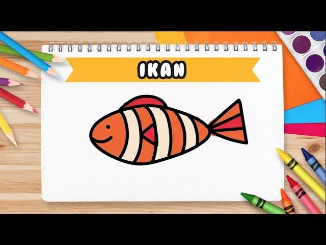 Mewarnai Anak Ikan Unduh Gambar Terbaik