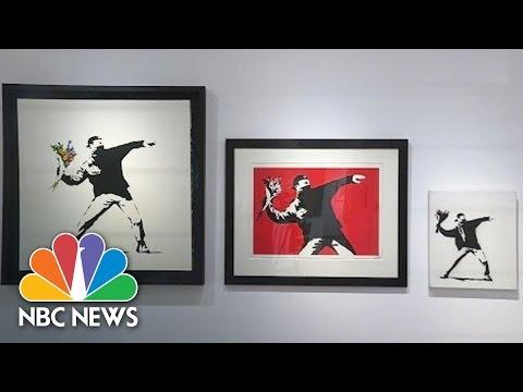 Admit One: Inside New Art Exhibit Of Banksy's Work | NBC News