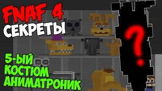- Five Nights At Freddy s 4 5 ЫЙ КОСТЮМ АНИМАТРОНИК