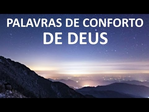 Palavras De Conforto De Deus Youtube