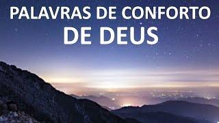 palavras de conforto de deus
