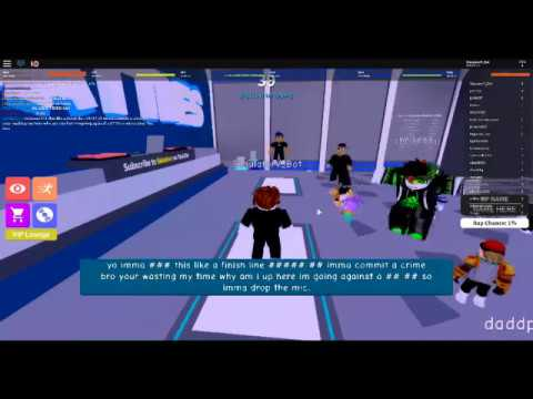 Roblox Rap Battle Good Roasts Bacon Hair Beats Person In A Rap Battle In Roblox Rap Battles Youtube