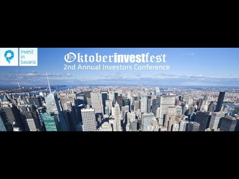 "2nd investors conference ""OktoberINVESTfest"" in New York City - Invest in Bavaria"