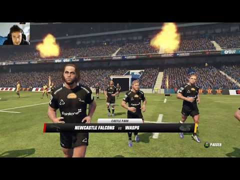 NEWCASTLE FALCONS - WASPS : Rugby Challenge 3