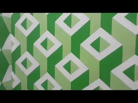 Cat  tembok  3d  solusi kejenuhan motif  tembok  yang biasa